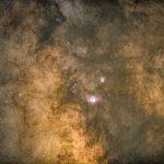 عکاسی نجومی در مرکز کهکشان راه شیری